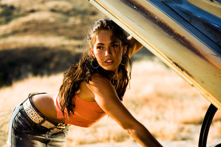 Megan Fox in Transformers